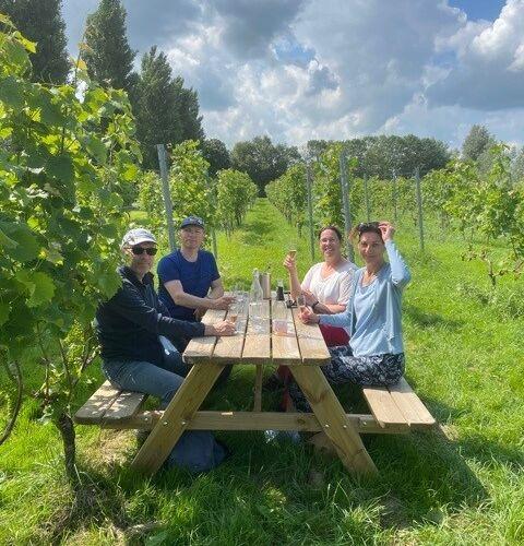 proost in de wijngaard